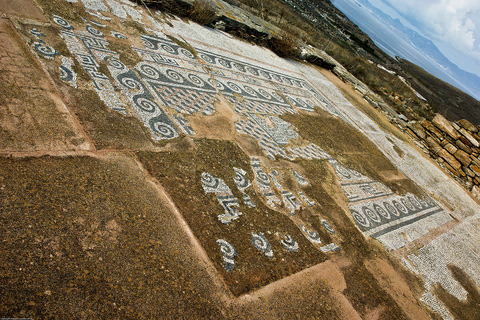 Delos, mosaic floor in the sanctuary of Atargatis and Hadad - photo: Robert H. Consoli, <www.squinchpix.com>
