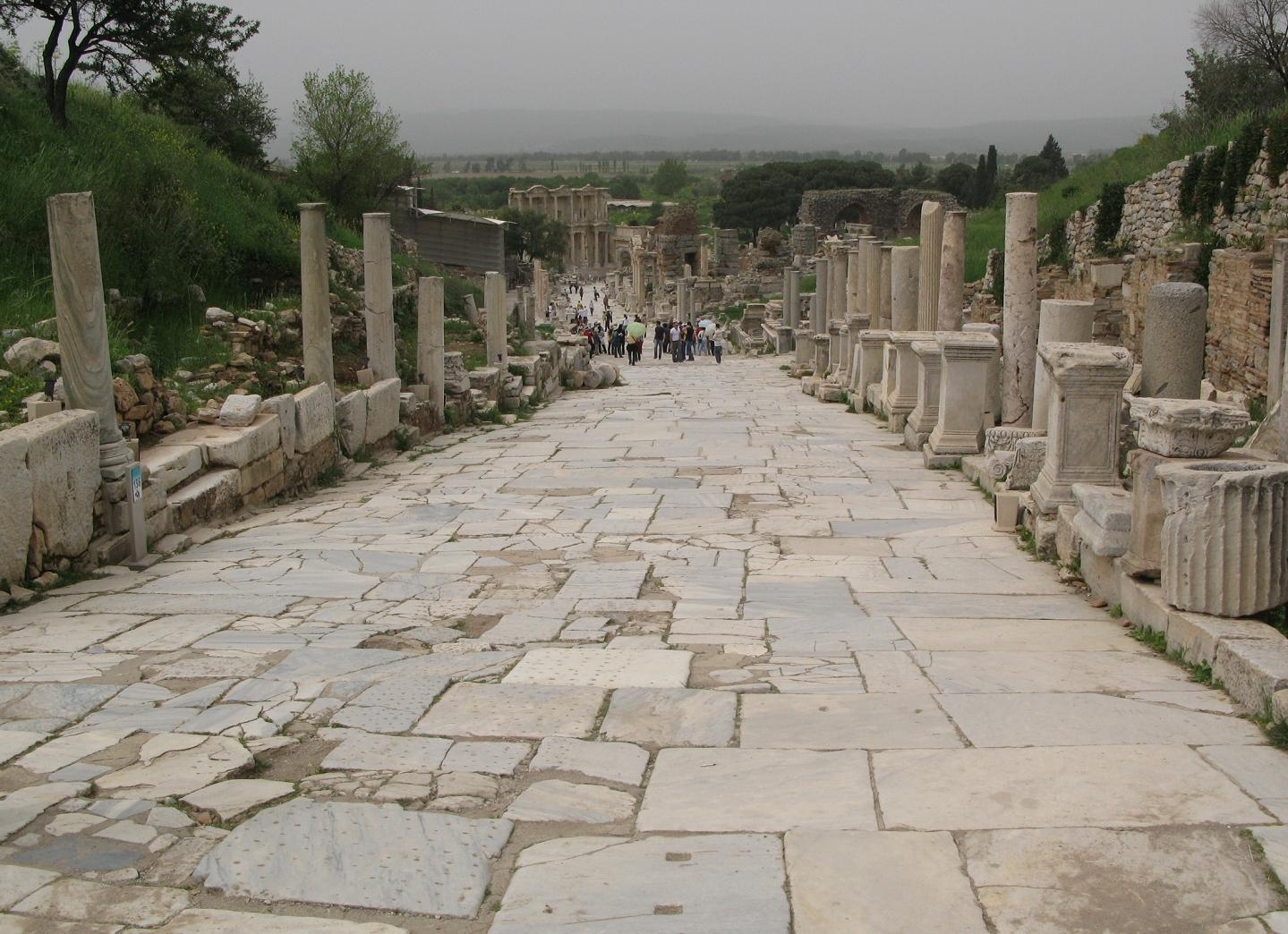 """Ephesus would not make an unlikely candidate for the location of Apollonius' farewell to life"" - photo: Thom Walstrum <http://thom.walstrum.com/2008_04_01_archive.html>"