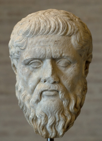 Plato, Glyptothek München - photo: Bibi Saint-Pol, Wikimedia Commons